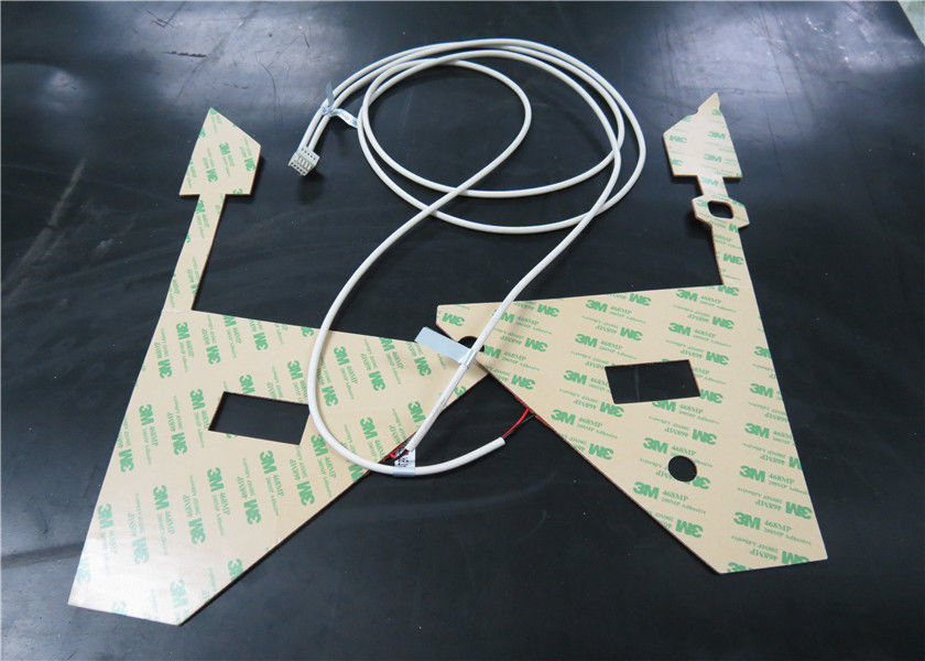Good Flexibility Silicone Rubber Heater Mat For Thermal Transfer Equipment
