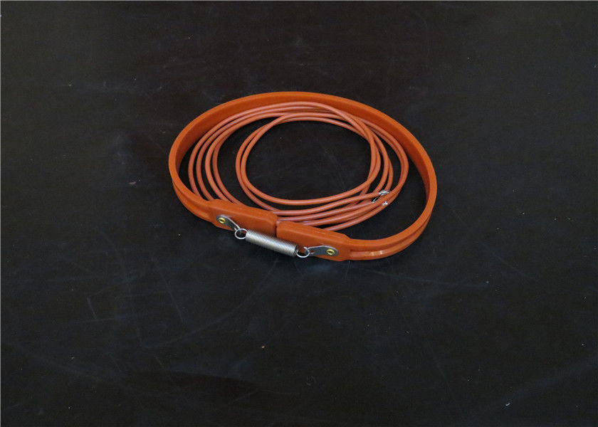 High Strength Silicone Rubber Heater , Flexible Heaters Silicone Rubber